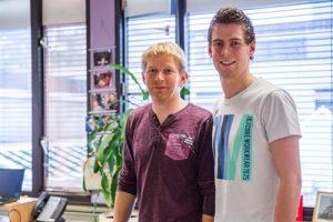 Manfred te Grotenhuis (l) en Nico van de Mortel mvd-youtubeonderzoek-150291